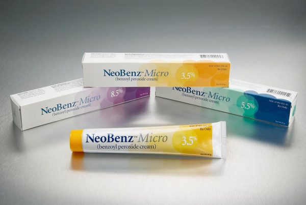 NeoBenz Micro skin care packaging design