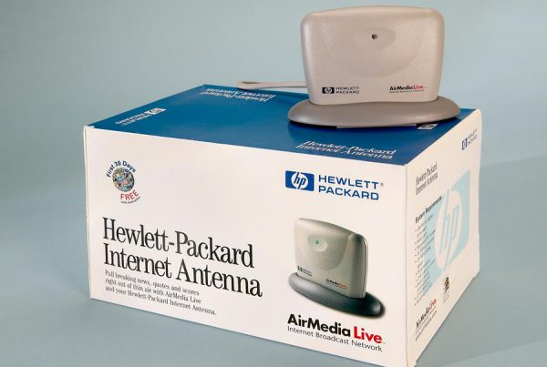 HP Internet Antenna packaging design