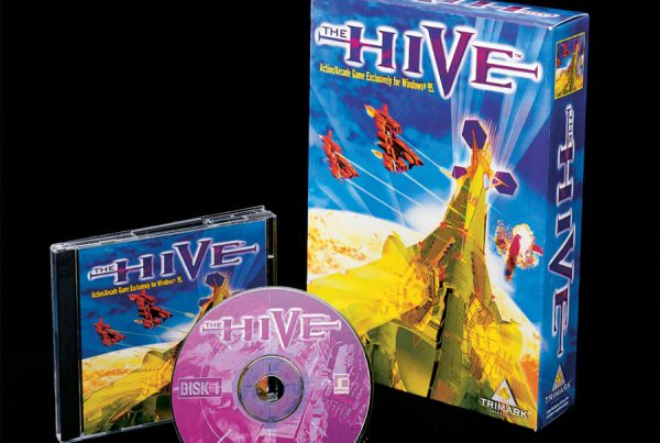 The Hive video game packaging design