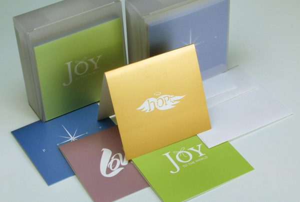 Greeting cards retail packaging design