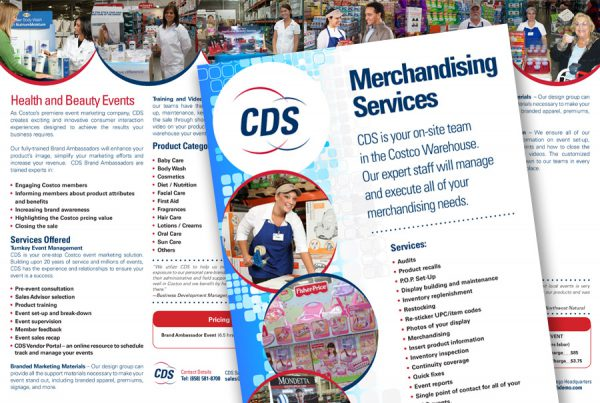 CDS product catalog design