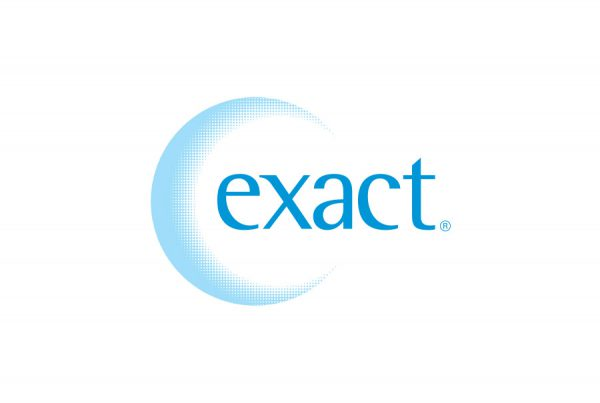 brand design logo for exact skin care products