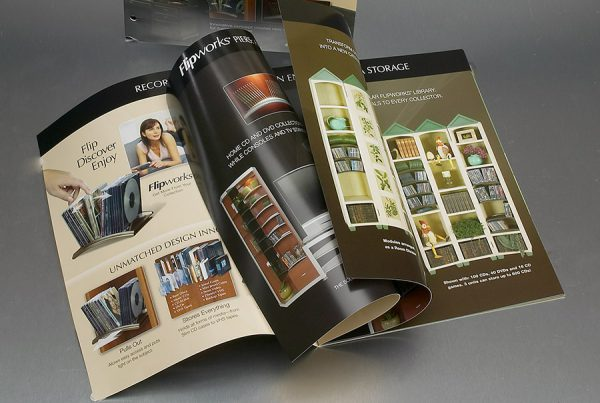 Catalog Design for Flipworks products