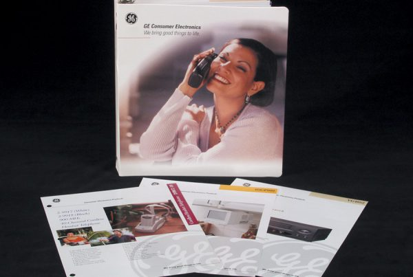 Catalog Design for GE products