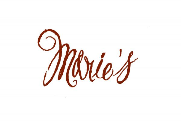 brand design for logo of Marie's apparel