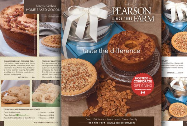 Catalog Design for Pearson Farm products