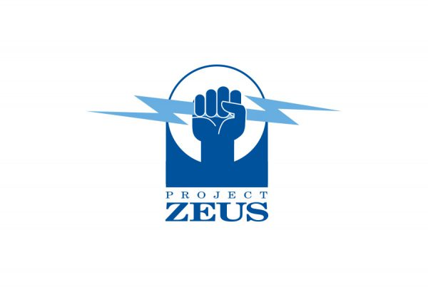 brand design logo for Navy Project zeus