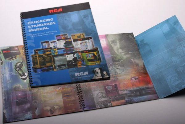 Catalog Design for RCA packaging standards