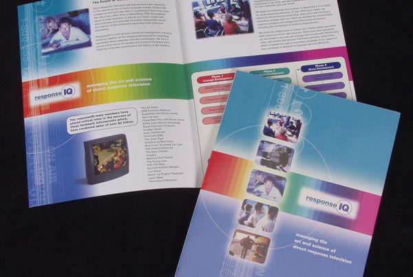 graphic design for Response IQ brochure
