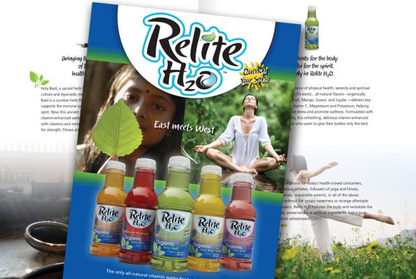 Catalog Design relite beverages