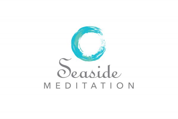 brand design logo for Seaside Meditation