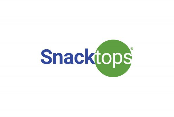brand design logo for Snacktops