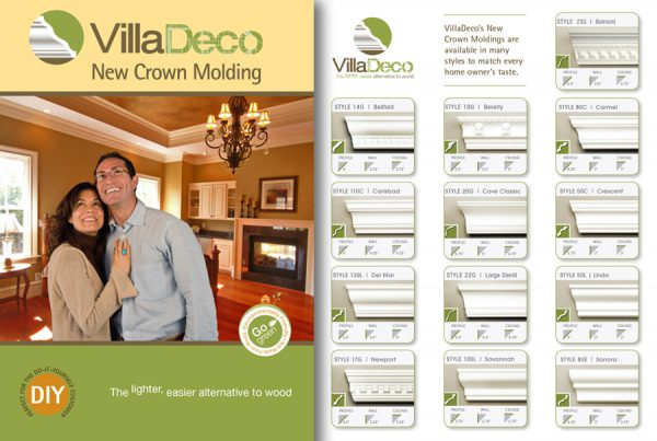 Catalog Design for Villa Deco products
