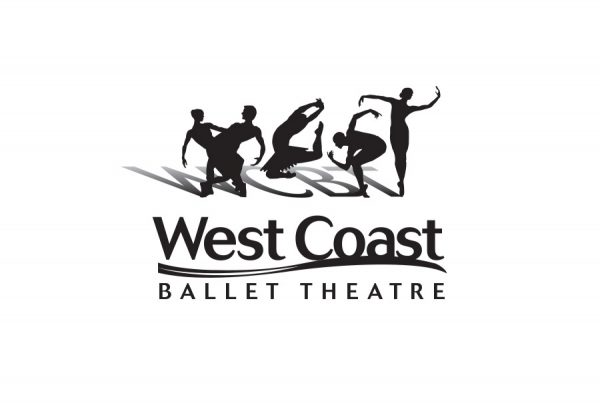 brand design logo for West Coast Ballet Theatre