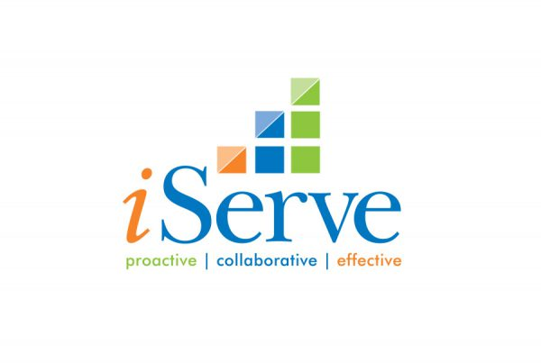 graphic design for iServe logo