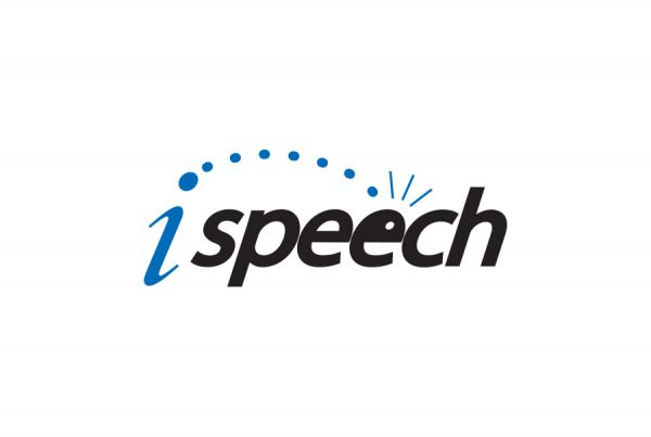 brand design logo for iSpeech