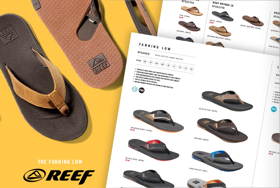 b9ba25d56e56 ... remind buyers of their success in sales with Reef products and  therefore