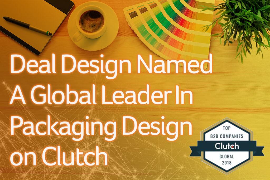 Deal Design Named A Global Leader in Packaging Design on Clutch