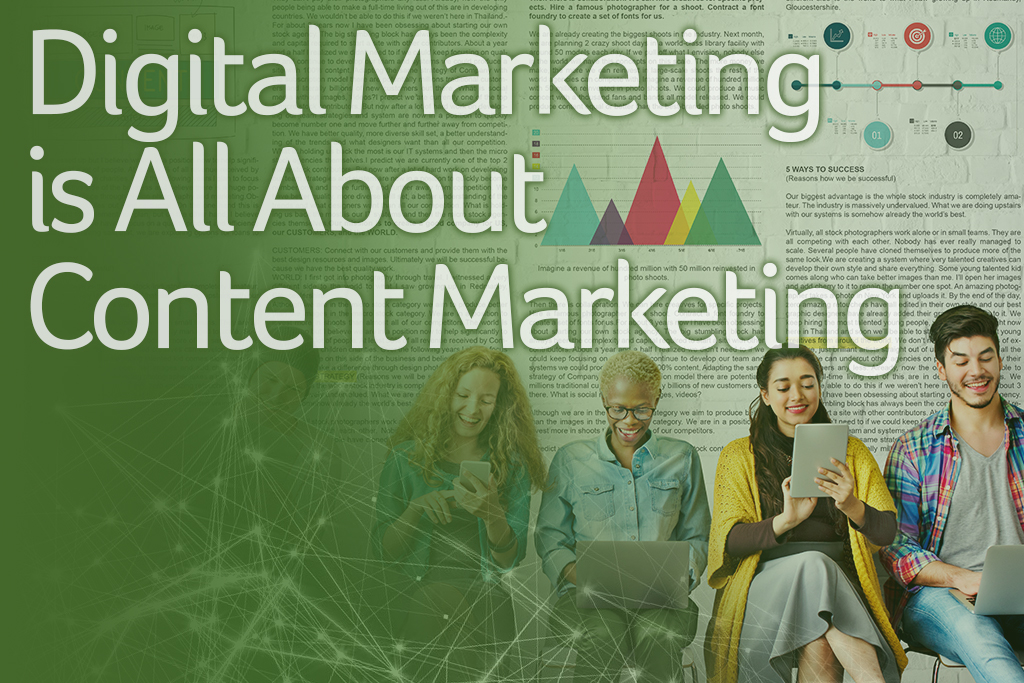 Digital Marketing is All About Content Marketing