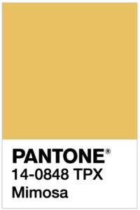 PANTONE 14-0848 Mimosa