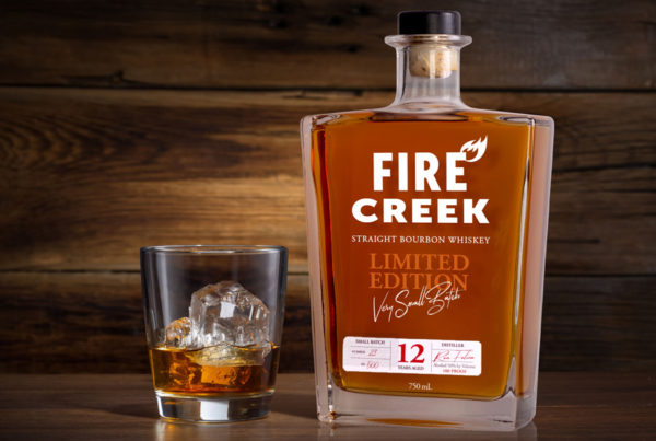 packaging design for bourbon whiskey