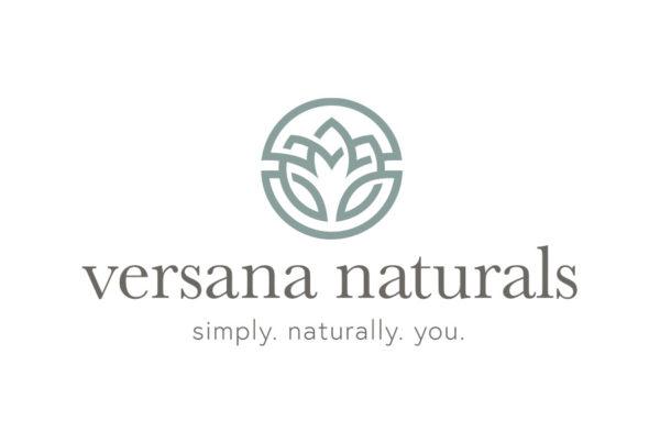 Versana Naturals logo design