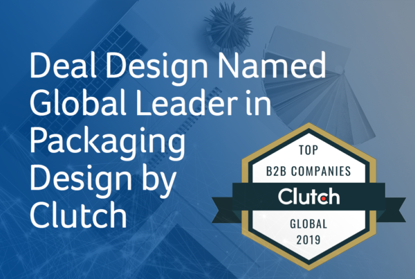 Deal Design Named Global Leader in Packaging Design by Clutch