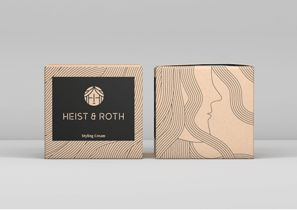 illustration product packaging design example