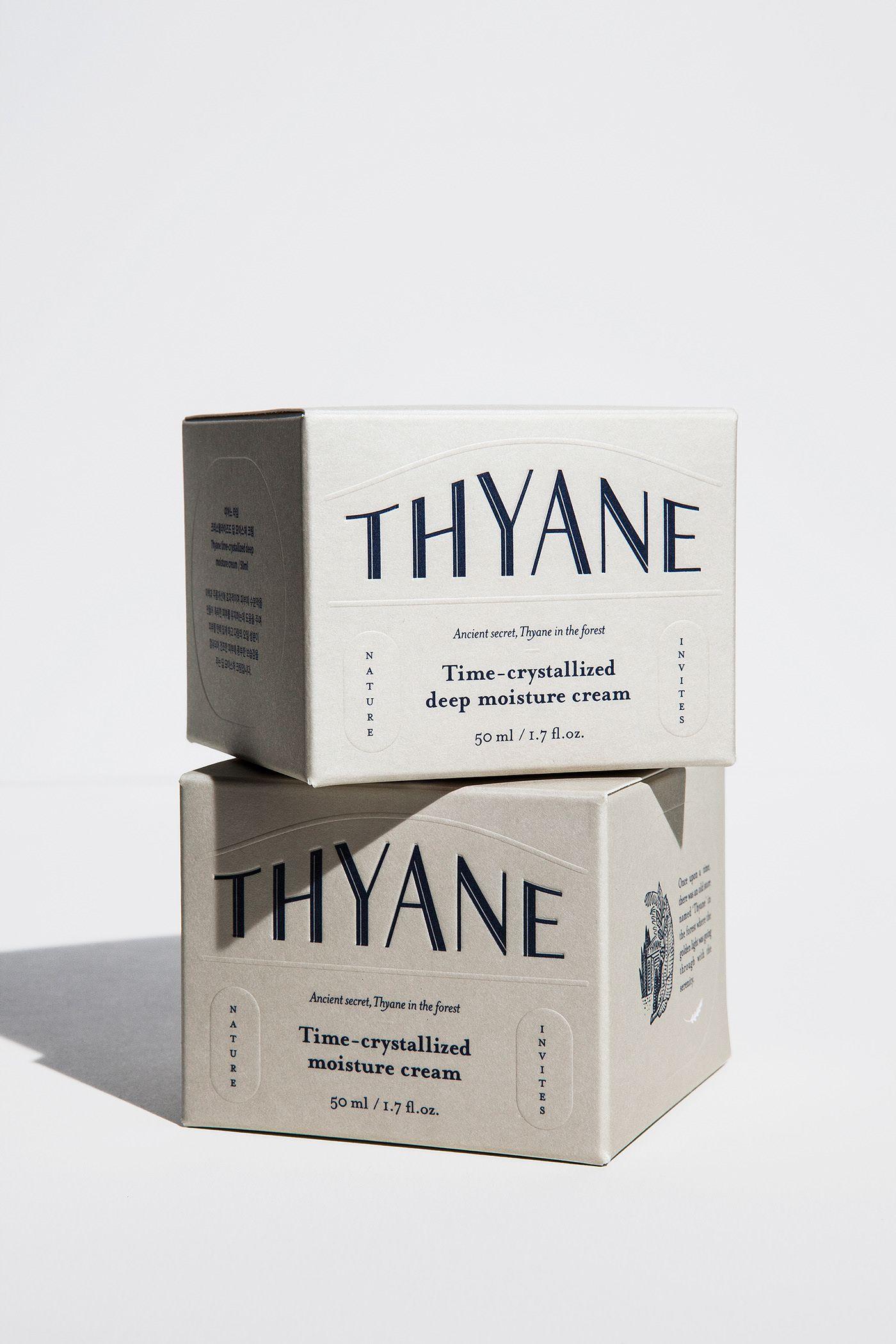 THYANE brand identity