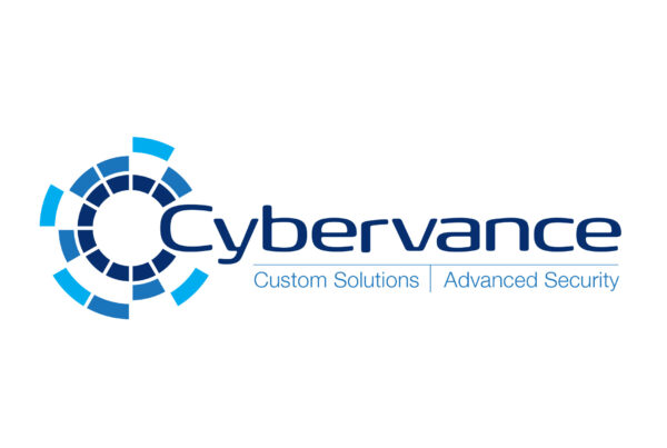 Cybervance logo on white background