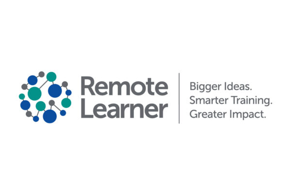 Remote Learner logo showing globe of dots connected by lines and the logo text