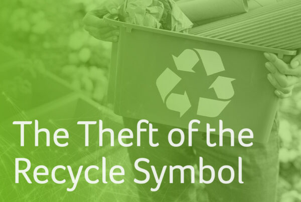 The theft of the recycle symbol